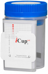 Alere ICup Drug Test Kit with Adulterant Checker - Product Image