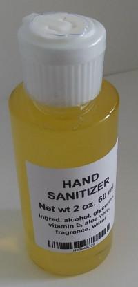 Hand Sanitizer 2 oz - Product Image