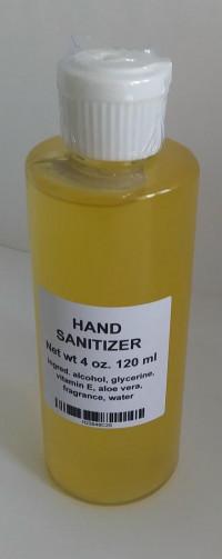 Hand Sanitizer - 4 oz - Product Image